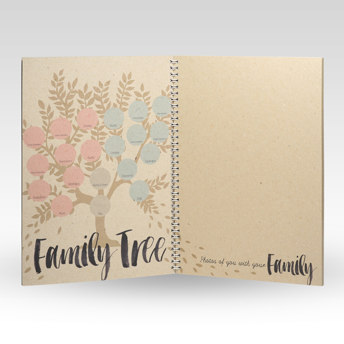 Charming Baby Shower Record Book Part - 13: Baby Book ...