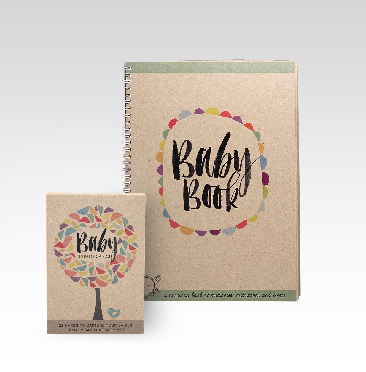 Baby Book Photo Cards Gift
