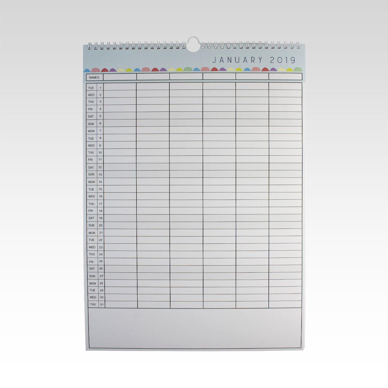 2019 family planner calendar rhicreative
